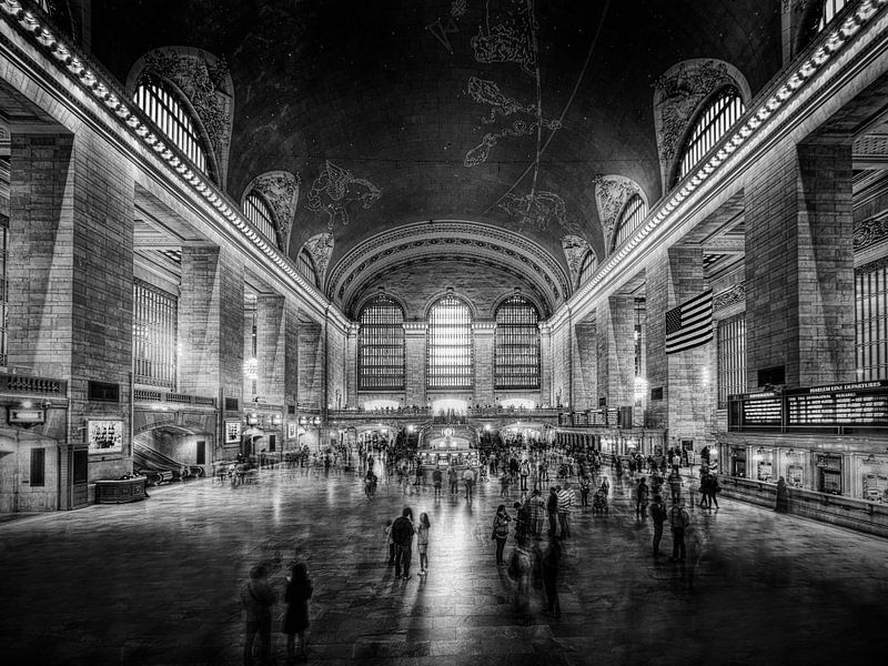 New York Grand Central Station van Carina Buchspies