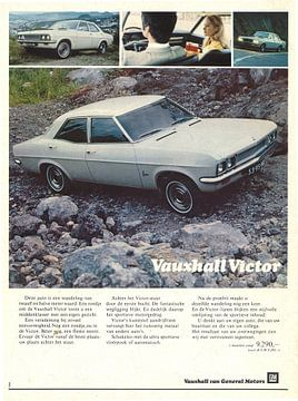 Vintage reclame Vauxhall Victor van Jaap Ros