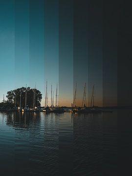 Sonnenuntergang von Christina Wagner