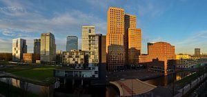 Amsterdam Zuidas Panorama Smaller