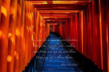 tempel japan van Misja Vermeulen