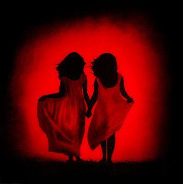 Rood, zwart, leven, warmte, liefde, hartstocht ... von Christoph Van Daele