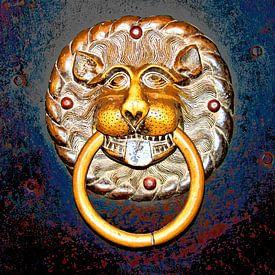 Tête de lion sur Leopold Brix