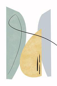 Walk The Line Edition I von Munich Art Prints