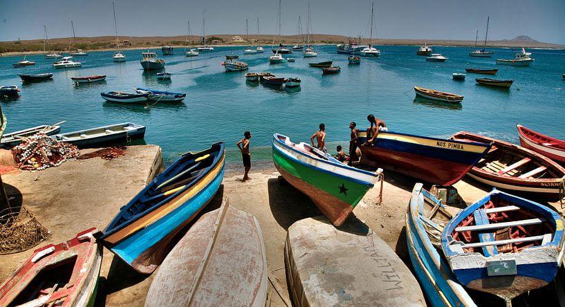 Kaapverdische haven van Jonathan van Rijn