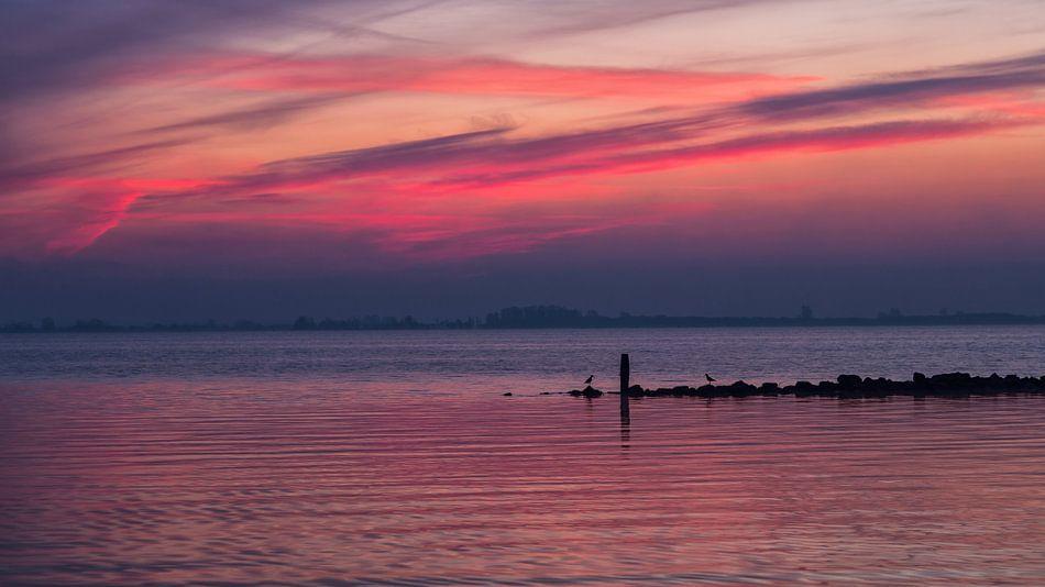Half uur voor zonsopkomst