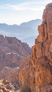 Berg Sinai (Ägypten) von Jessica Lokker