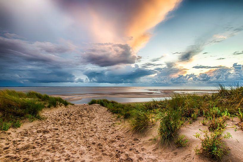 Maasvlakte Beach HDR van RvR Photography (Reginald van Ravesteijn)