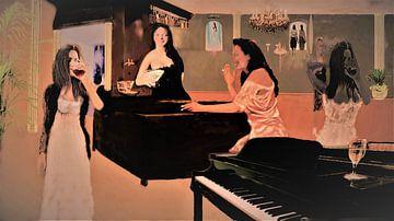 Lady's night van Frans Klijzen