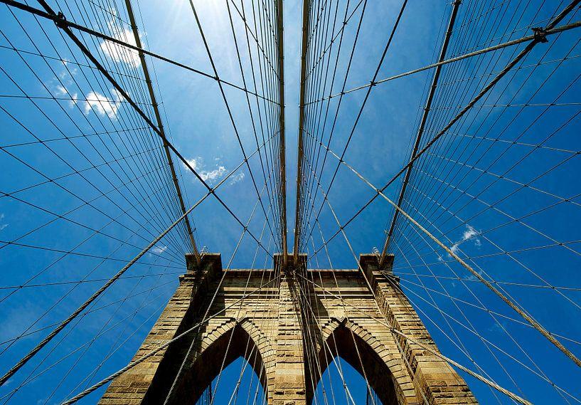 New York Brooklyn Bridge van René Schotanus