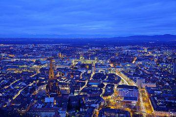 Blaues Freiburg van Patrick Lohmüller