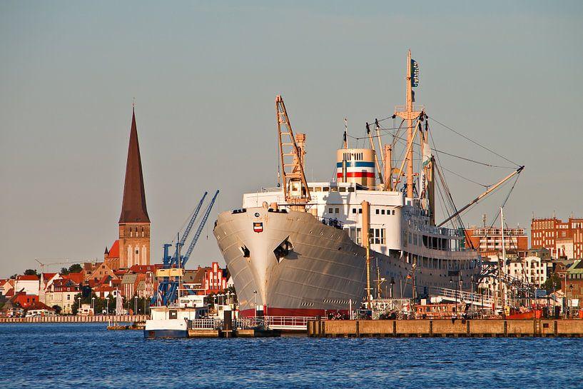 City port of Rostock van Rico Ködder