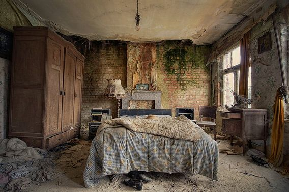 Urbex - Sweet dreams van Angelique Brunas