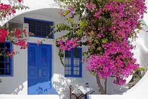 Santorini, Griekenland, Cycladen, Egeïsche Zee, eiland, vulkaan, van