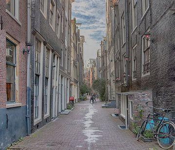 Oude Nieuwstraat Amsterdam van Peter Bartelings Photography