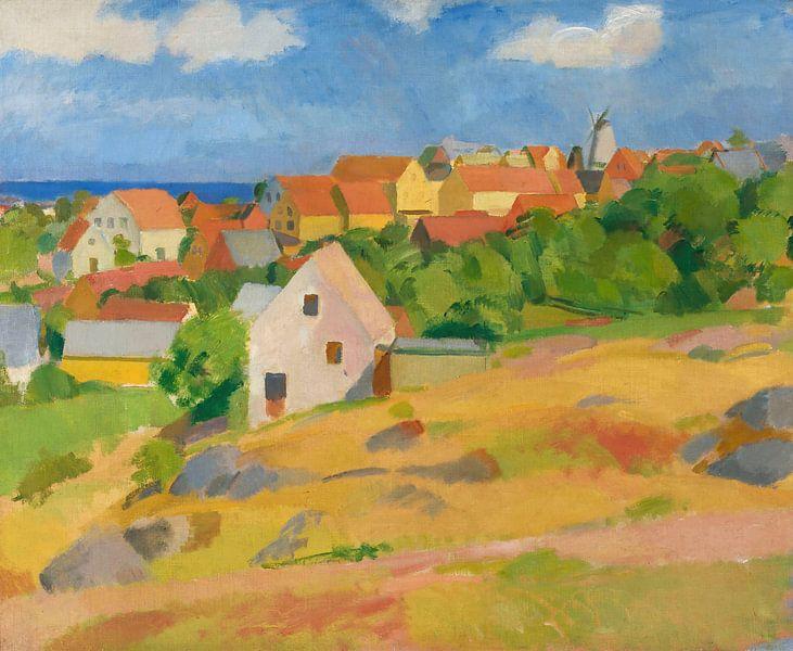 Karl Isakson - Blick über Gudhem von finemasterpiece