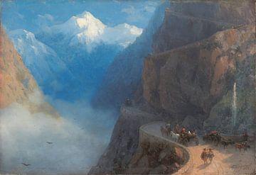 De Mleta à Gudauri, Ivan Ajvazovski