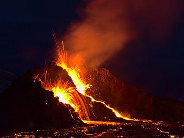 Der Vulkan von Timon Schneider