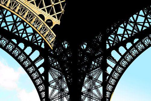 De Eiffeltoren Parijs