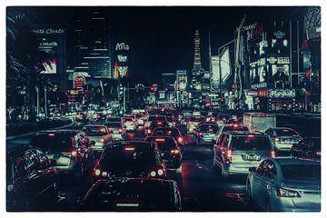 Las Vegas Strip (Faded) van Rolf Linnemeijer