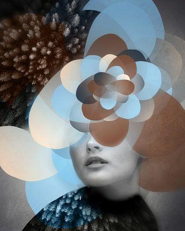 """Contemporary Face III """"A flexa"""" van De nieuwe meester"""