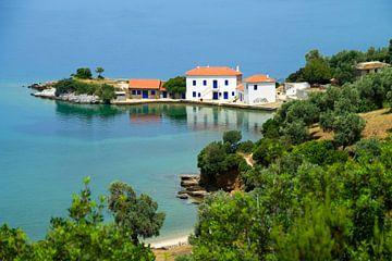 Schöne griechische Bucht von Miranda van Hulst