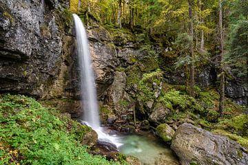 Sibli waterval in Beieren van Michael Valjak