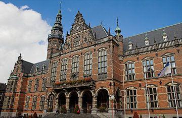 Academiegebouw Rijksuniversiteit Groningen (Nederland) van Sandra de Heij