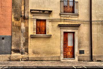 Italienische Hausfassade von Kirsten Warner