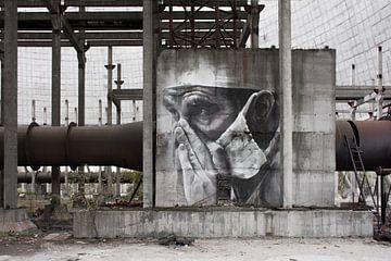 Kunst in de koeltoren  van Tim Vlielander