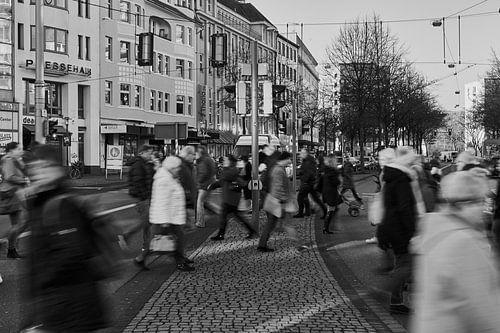 Mensen in beweging