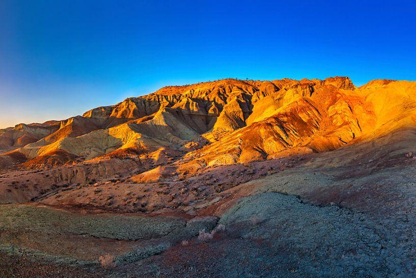 Rainbow Basin - Barstow Californië van Remco Bosshard