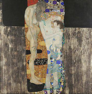 Le tre età, Gustav Klimt sur