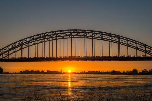 Vier Tage Marsch Nijmegen Waal Brücke