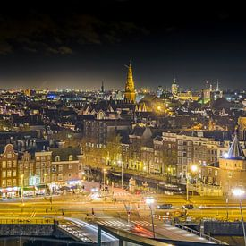 Skyline Amsterdam von Arjan Keers