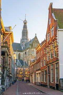 De Jansstraat in Haarlem von Dirk van Egmond
