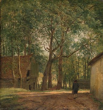 Bauernhof, Andreas Schelfhout