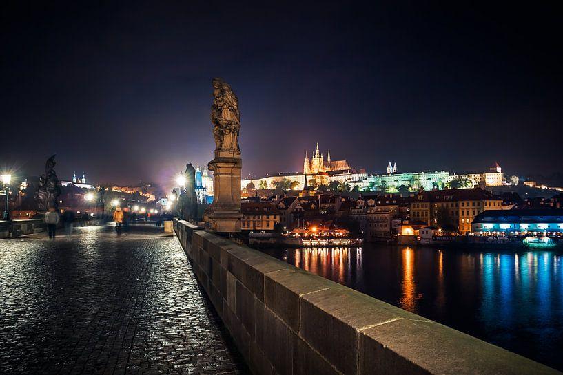 Prague - Charles Bridge van Alexander Voss