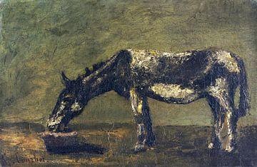 Staffelei, Gustave Courbet, 1862 - 1863 von Atelier Liesjes
