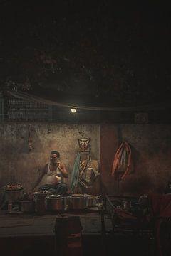 Nachtvoedselkraam van Edgar Bonnet-behar