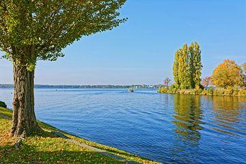 Herbstliche Ausfahrt auf den Schwielowsee von Gisela Scheffbuch