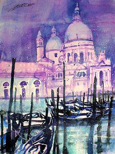 Venise, Santa Maria della Salute sur Johann Pickl