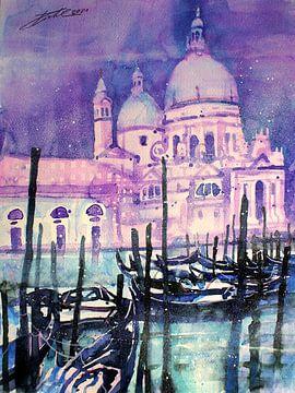 Venedig, Santa Maria della Salute von Johann Pickl