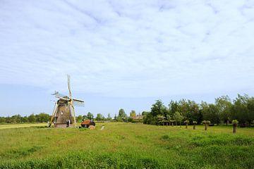 Hollandse molen in Groot-Ammers van Ivonne Wierink