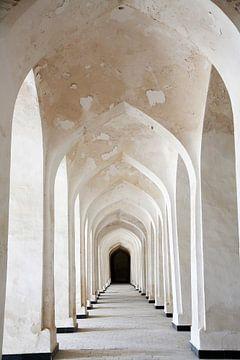 Bogen van de Mir-i Arab Madrasa