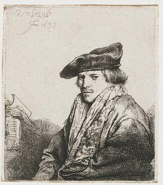 Petrus Sylvius, Rembrandt van Rijn sur Ed z'n Schets