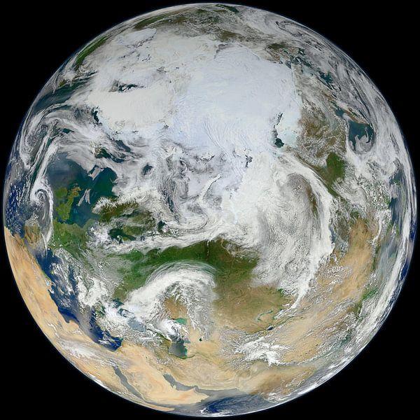 Vue du pôle Nord et de l'Europe sur Atelier Liesjes