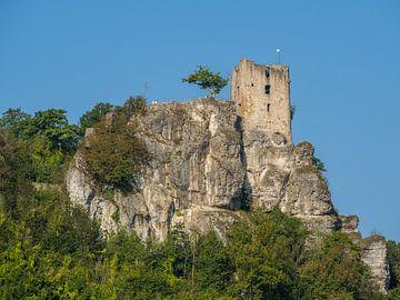 Kasteelruïne Neideck in Frankisch Zwitserland van Animaflora PicsStock
