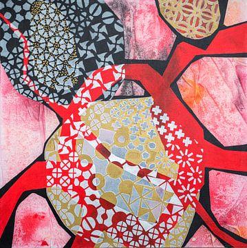 Beweging Aansluiting 2- abstracte schilderkunst