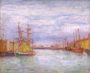 James Ensor. De haven van Oostende